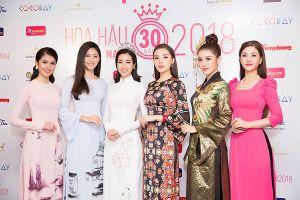 Chị Đặng Thanh Hằng - Ba mùa giữ vai trò Cố vấn sắc đẹp Hoa hậu