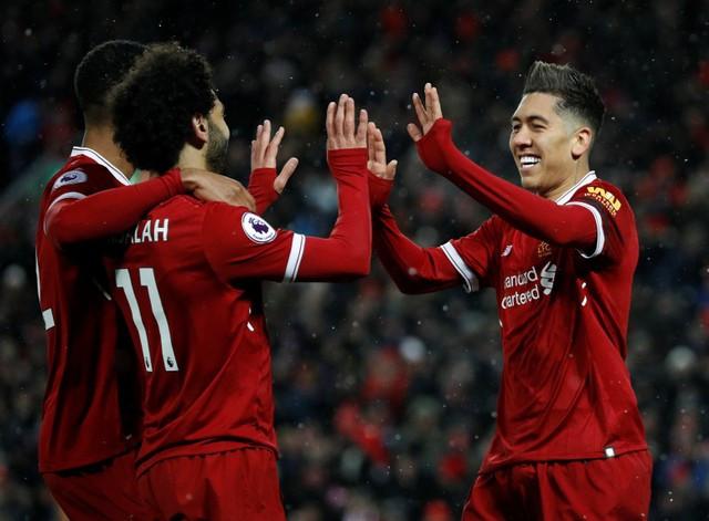 Liverpool hủy diệt Watford nhờ 4 bàn thắng của Salah