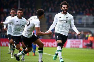 Crystal Palace 1-2 Liverpool: Salah san bằng kỷ lục của Ronaldo