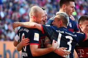 Bayern Munich vô địch Bundesliga,lập kỷ lục không tưởng