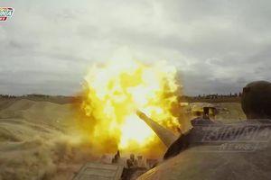 Quân đội Syria khai hỏa tấn công 'pháo đài' thánh chiến Douma, Đông Ghouta