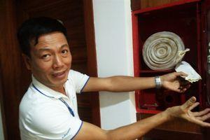 Kỳ lạ toàn bộ thiết bị phòng cháy chữa cháy của chung cư bị trộm cuỗm sạch