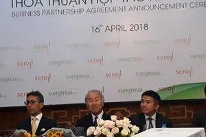 Tập đoàn Nhật Bản nắm 26,9% cổ phần doanh nghiệp sở hữu Cungmua.com, Nhommua.com và Shipto.vn
