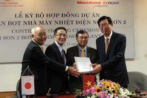Ký chính thức Hợp đồng BOT Nhiệt điện Nghi Sơn 2