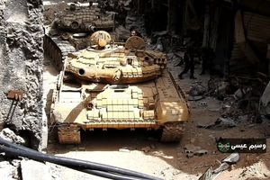 Quân đội Syria dội lửa hủy diệt trận địa IS ở nam Damascus