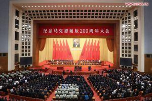Chủ tịch Trung Quốc Tập Cận Bình ca ngợi Karl Marx là nhà tư tưởng vĩ đại nhất của thời hiện đại