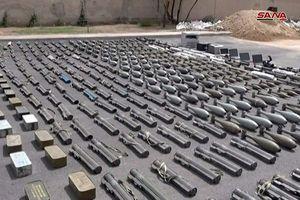 Quân đội Syria chiếm giữ lượng lớn vũ khí Israel ở Rastan, Homs