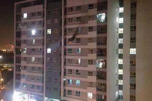 Chung cư Hồng Hà Eco City cháy, dân hoảng loạn bỏ chạy