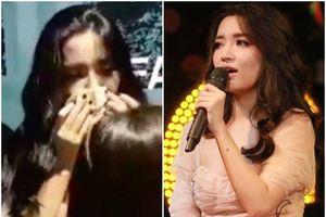Bích Phương lần đầu hát live 'Bùa yêu', khóc rưng rức khuyên fan đừng thức khuya cày view cho mình