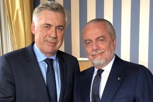 Carlo Ancelotti chính thức là thuyền trưởng mới của Napoli