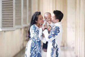 Vợ Quốc Nghiệp chỉ cầu mong cho chồng bình an trở về