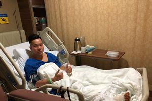 Lê Thanh Bình hết cơ hội tới ASIAD vì dưỡng thương 3 tháng