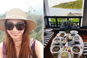 Nữ diễn viên đình đám xứ Hàn bất ngờ khoe ảnh check-in ở Đà Nẵng