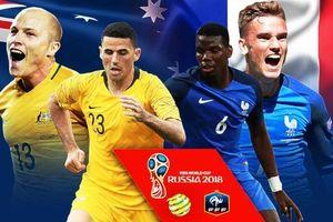 Pháp vs Australia: Ngày mở màn Gà cất tiếng gáy