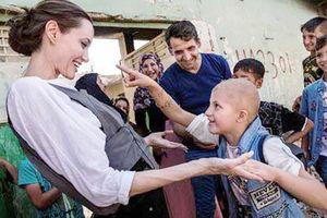 Angelina Jolie thăm người tị nạn tại Iraq