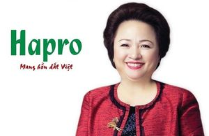 Nữ tướng của Tập đoàn BRG Nguyễn Thị Nga trúng HĐQT Hapro