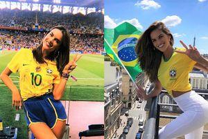 Thiên thần Victoria's Secret xinh đẹp cổ vũ World Cup