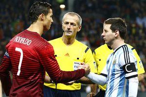HLV Đinh Hồng Vinh, Hải Anh, Quế Ngọc Hải 'soi kèo' Messi và Ronaldo về nước
