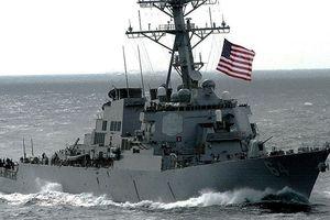 Chiến hạm Mỹ đi qua eo biển Đài Loan giữa lúc căng thẳng Mỹ - Trung