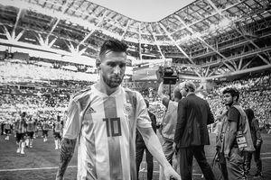 Messi sp chia tay i tuyn Argentina?