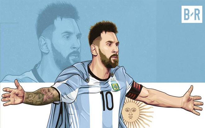 Messi ra iu kin  tip tc khoác áo Argentina