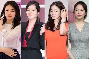 BXH nữ ngôi sao có 'Vẻ đẹp thế kỷ' 2018: Han Ga In bị Suzy vượt mặt, Song Hye Kyo cạnh tranh cùng Kim Tae Hee