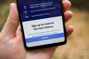 Samsung chính thức cho đặt chỗ mua Galaxy Note 9