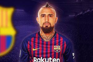 Đội hình tối ưu của Barca khi có Vidal, Malcom