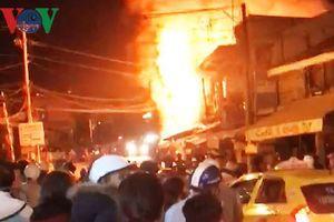 Người đàn ông mắc kẹt trong căn nhà bị cháy ở Đà Lạt