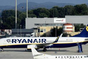 Đình công ảnh hưởng tới 55.000 hành khách của hàng không Ryanair