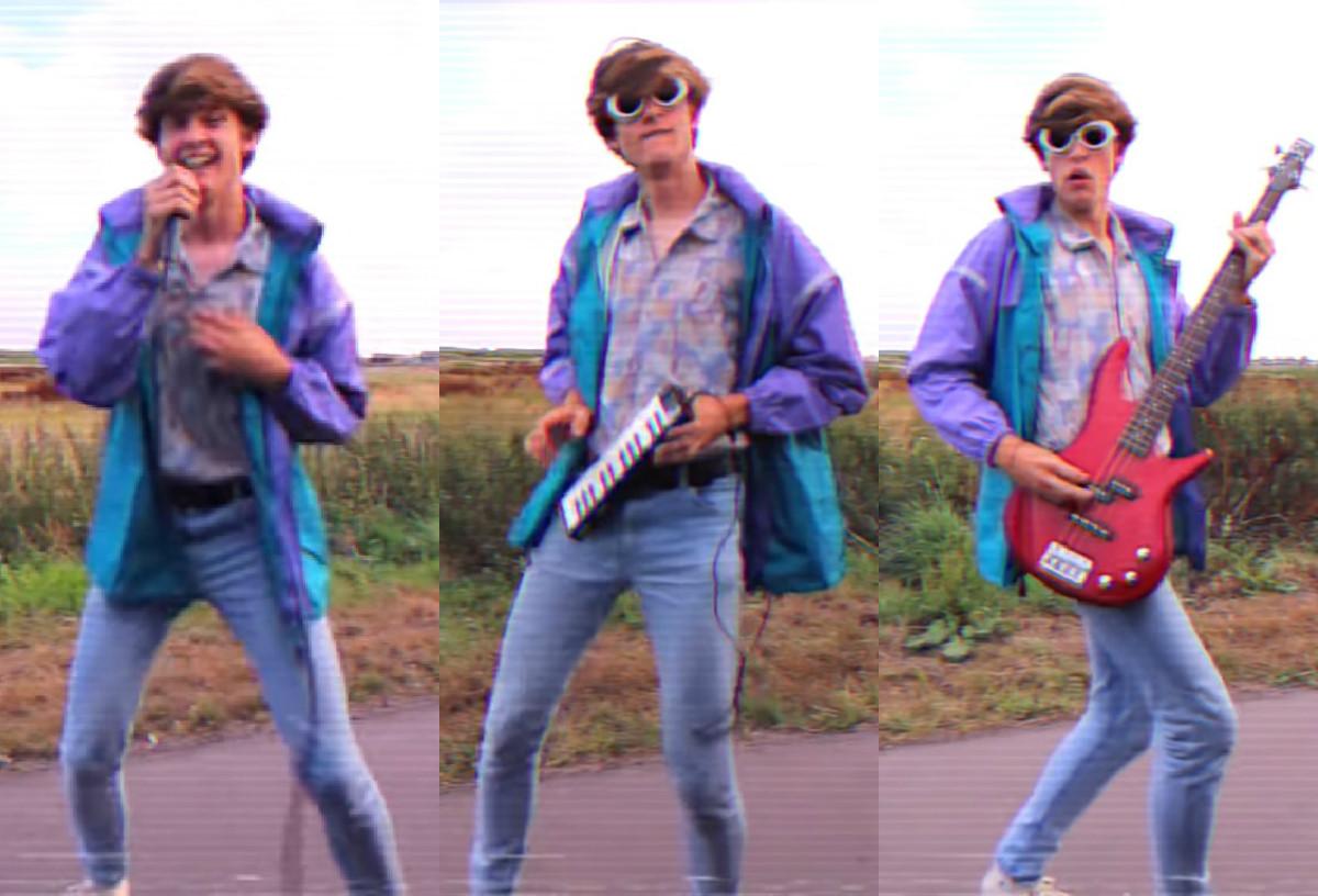 Chàng trai sáng tạo điệu nhảy 'lao ra khỏi xe' phong cách thập niên 80