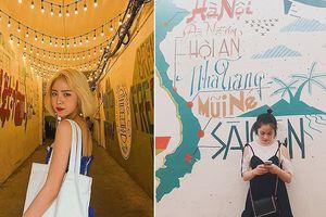 Những bức tường siêu 'art' ở Sài Gòn, chỉ cần đứng vào là có ngay ảnh đẹp!