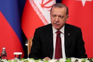 Tổng thống Erdogan: 'Cần phải chống lại các nỗ lực ly khai ở Syria'