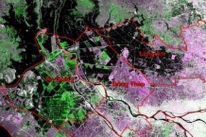 Diễn biến lũ đồng bằng sông Cửu Long qua ảnh vệ tinh viễn thám