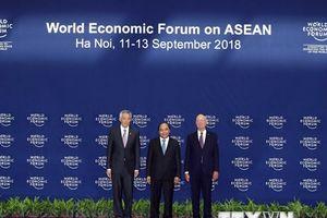 Khai mạc Hội nghị Diễn đàn Kinh tế Thế giới về ASEAN 2018
