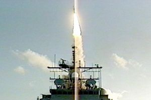 Nhật Bản-Mỹ thử nghiệm hệ thống phòng thủ tên lửa Aegis