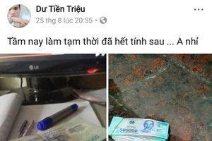 Nghi phạm 'vụ thi thể trơ xương' khoe tiền trên Facebook sau gây án