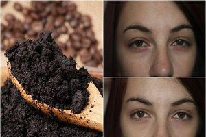 Những công dụng làm đẹp không ngờ từ bã cà phê