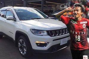 'Messi Thái' lái Jeep ở đội bóng cũ Công Vinh