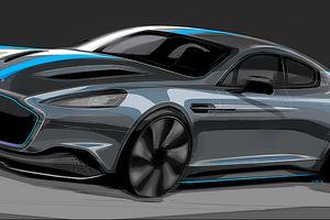 Xe điện cực mạnh của Aston Martin sắp ra mắt
