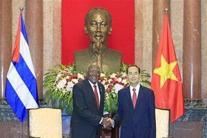 Chủ tịch Nước, Chủ tịch Quốc hội tiếp Phó Chủ tịch thứ nhất Cuba