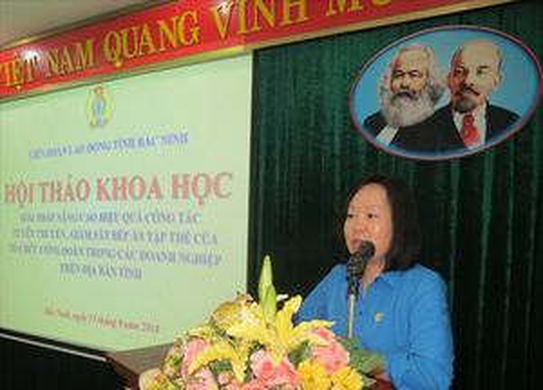 Bắc Ninh: Tăng cường tuyên truyền, kiểm tra để đảm bảo chất lượng bữa ăn ca