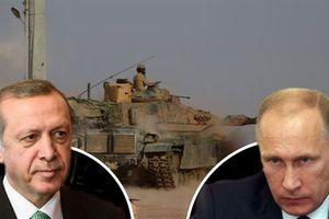 Không kích Idlib khựng lại