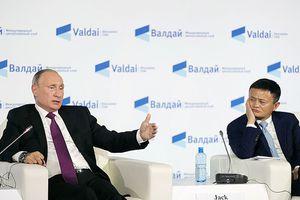 Tổng thống Putin thắc mắc chuyện về hưu sớm của tỉ phú Jack Ma