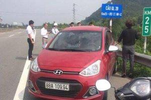 Nữ tài xế lái ôtô ngược chiều trên cao tốc sẽ bị phạt 7 triệu đồng