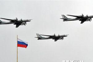 Chiến đấu cơ F-22 của Mỹ chặn máy bay ném bom Nga gần Alaska