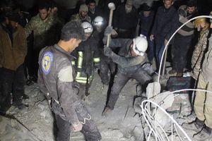 Lầu Năm Góc: Nhóm 'Mũ bảo hiểm trắng' đang tiến hành nhiệm vụ nhân đạo tại Syria