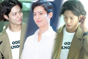 Diện mạo hoàng tử bạch mã biến mất sau 1 ngày, Park Bo Gum lại 'xuề xòa' vén tóc tại sân bay