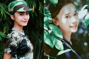Hot girl 10x cực xinh đẹp được dân mạng ví như bản sao diễn viên nổi tiếng Địch Lệ Nhiệt Ba