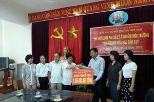Bộ TN&MT hỗ trợ kinh phí khắc phục, xử lý ô nhiễm môi trường do bão lũ gây ra tại Thanh Hóa và Nghệ An